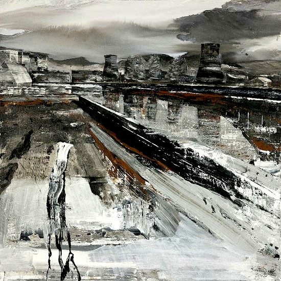 Complesso - 2012 - tecnica mista su tela - cm 160x160