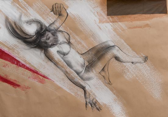 Oblìo - 2012 - 100x70 tecnica mista su carta
