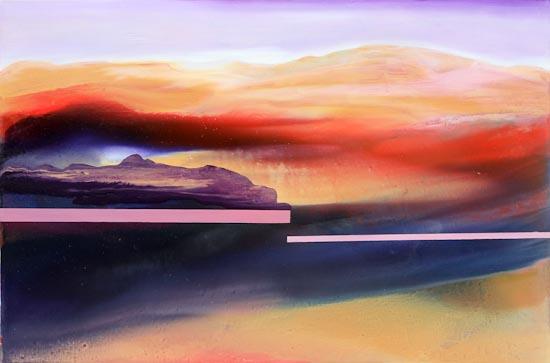 Paesaggio - olio su tela 120x80 - 2013
