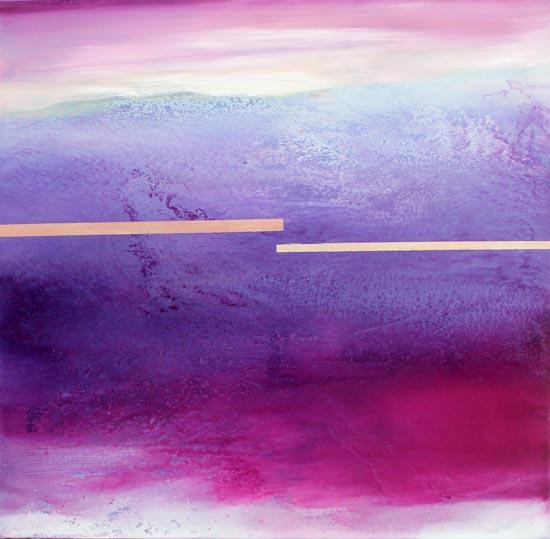 Paesaggio - olio su tela 100x100 - 2013