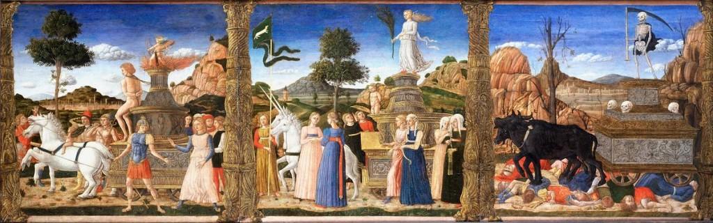 Girolamo da Cremona - I trionfi di Petrarca - ca 1500