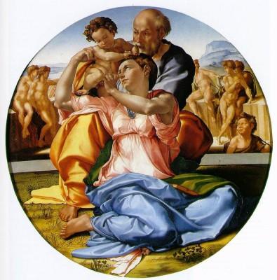 Tondo Doni - tempera su tavola - ca1506 - Michelangelo