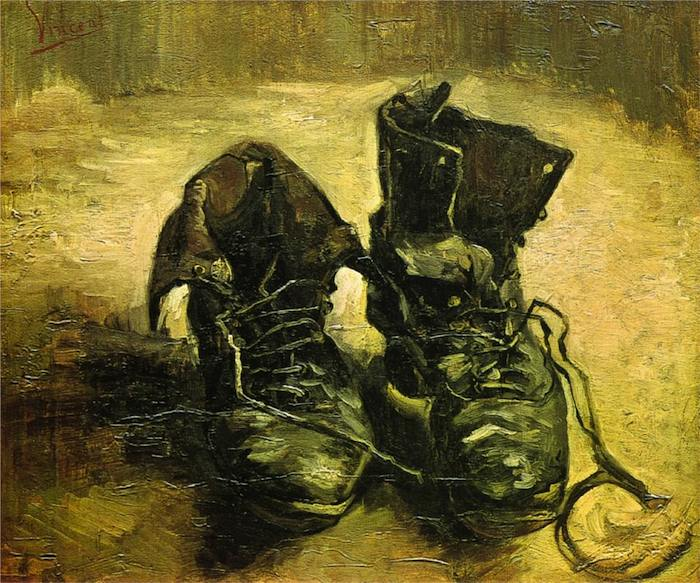 A PAIR OF SHOES - cm 45x37,5 - Vincent Van Gogh - 1886 - Van Gogh Museum, Amsterdam