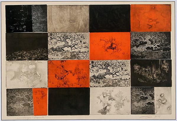 Impronte - 2013 -Acquaforte e acquatinta - cm 60x78