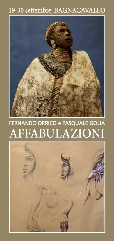 AFFABULAZIONI - Bagnacavallo _ Fernando Orrico e Pasquale Golia
