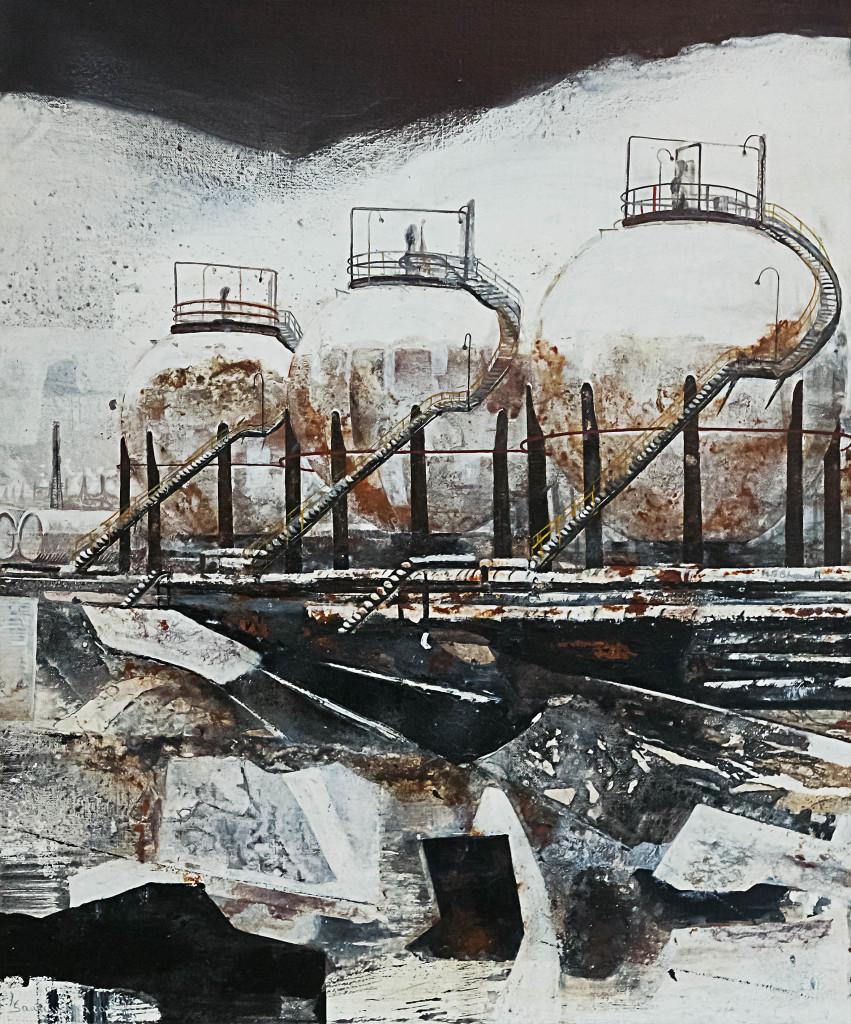 crogioli-tecnica-mista-su-tela-2015
