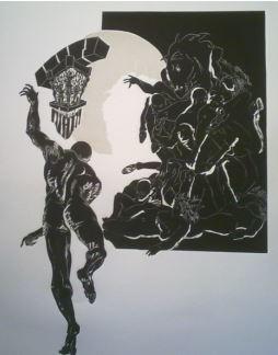 Fernando Orrico | irraggiungibile |1992 |incisione |70x50cm