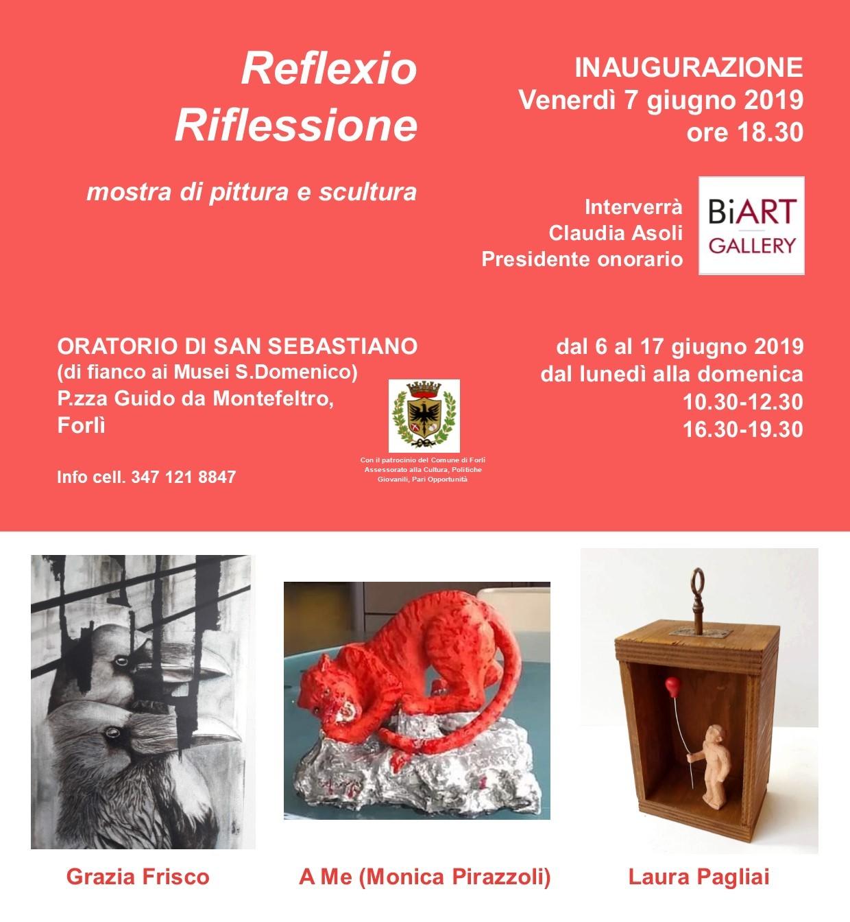 REFLEXIO   GRAZIA FRISCO, MONICA PIRAZZOLI, LAURA PAGLIAI ...